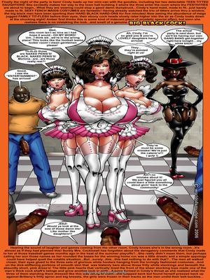 Interracial Comics Pretty Big Juggs House Wife Cindy Porn Comic 02