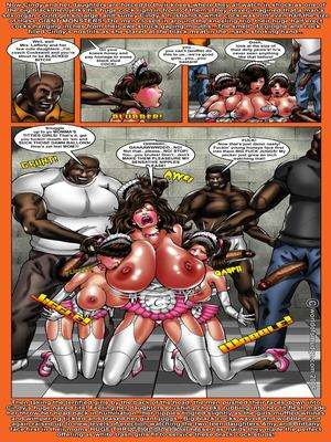 Interracial Comics Pretty Big Juggs House Wife Cindy Porn Comic 04