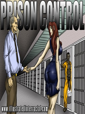 Porn Comics - Interracial : Prison Control- illustrated interracial Porn Comic