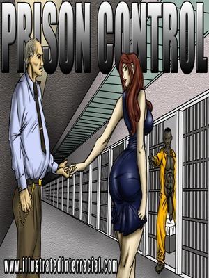 Porn Comics - Interracial : Prison Control- illustrated interracial Porn Comic