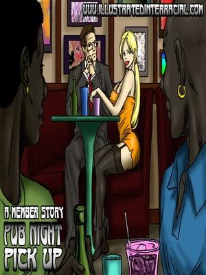 Porn Comics - Interracial : Pub Night Pick Up- illustrated interracial Porn Comic