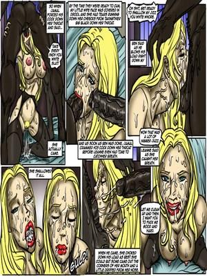Interracial Comics Pub Night Pick Up- illustrated interracial Porn Comic 06