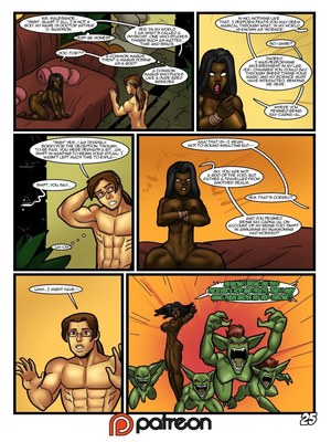 Interracial Comics Rabies-Hero Tales 2- Enter the Mad Witch Porn Comic 26