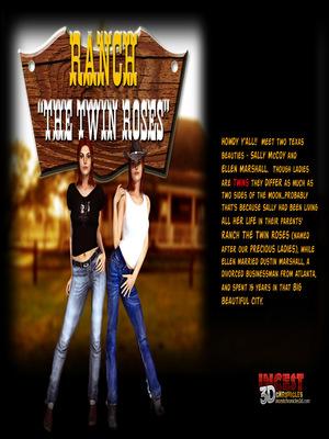 Porn Comics - 3D : Ranch The Twin Roses. Part 1 Porn Comic