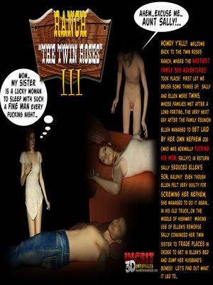 Porn Comics - 3D : Ranch The Twin Roses. Part 3- 3DChronicles Porn Comic