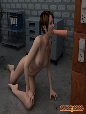 3D Porn Comics Raunchy School- A Fucking Machine Workshop for Two Hotties Porn Comic 16