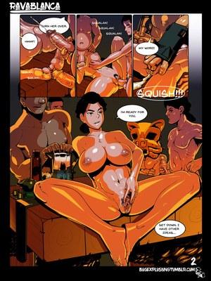 Adult Comics Ravablanca (The Legend of Korra) Porn Comic 03