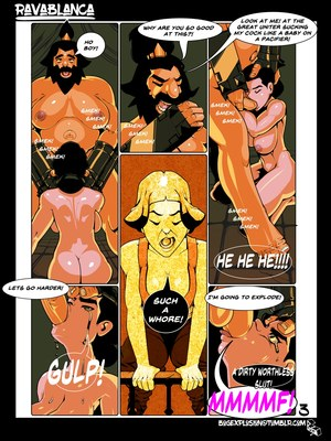 XXX – Ravablanca (The Legend of Korra) Porn Comic