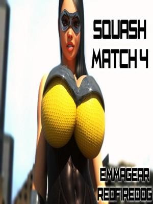 Porn Comics - 3D : Redfired0g- Squash Match 4 Porn Comic