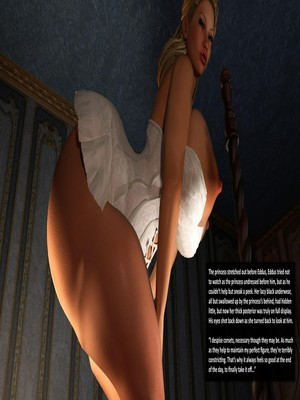 3D Porn Comics Redfired0g- The Princess and the Peasant Porn Comic 17