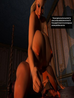 3D Porn Comics Redfired0g- The Princess and the Peasant Porn Comic 33