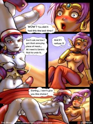 Adult Comics Risky's Curse (Shantae) Porn Comic 03