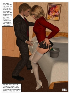 3D Porn Comics Rooming With Mom- 3D Incest Porn Comic 52