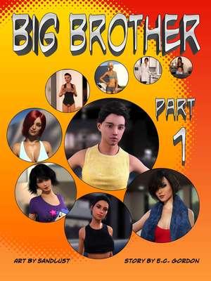 3D Porn Comics Sandlust- Big Brother Part 1 Porn Comic 01