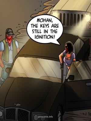 Adult Comics Savita Bhabhi 68- Undercover Bust Porn Comic 06