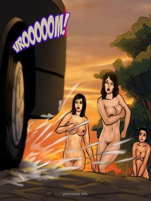 Adult Comics Savita Bhabhi 68- Undercover Bust Porn Comic 08
