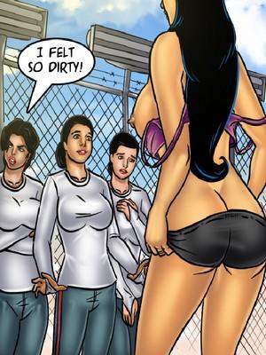 Adult Comics Savita Bhabhi 68- Undercover Bust Porn Comic 106
