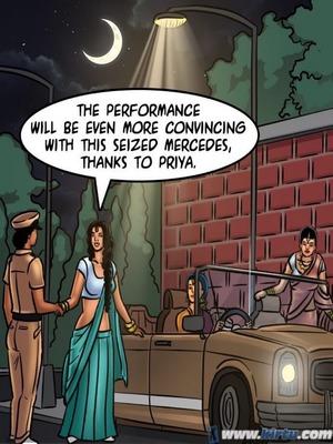 Adult Comics Savita Bhabhi 68- Undercover Bust Porn Comic 130