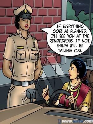 Adult Comics Savita Bhabhi 68- Undercover Bust Porn Comic 131