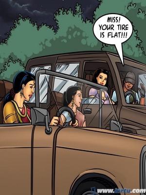 Adult Comics Savita Bhabhi 68- Undercover Bust Porn Comic 134