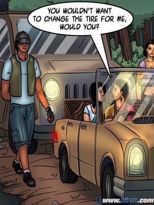 Adult Comics Savita Bhabhi 68- Undercover Bust Porn Comic 135