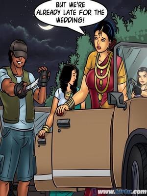 Adult Comics Savita Bhabhi 68- Undercover Bust Porn Comic 137