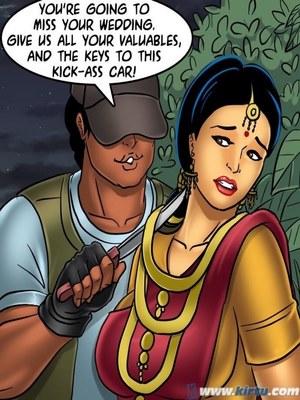 Adult Comics Savita Bhabhi 68- Undercover Bust Porn Comic 138