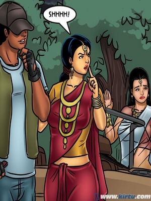 Adult Comics Savita Bhabhi 68- Undercover Bust Porn Comic 140