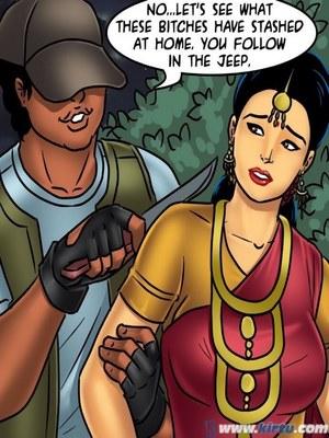 Adult Comics Savita Bhabhi 68- Undercover Bust Porn Comic 143