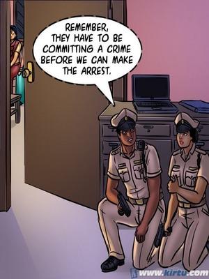Adult Comics Savita Bhabhi 68- Undercover Bust Porn Comic 147