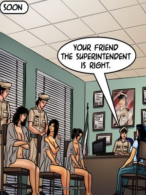 Adult Comics Savita Bhabhi 68- Undercover Bust Porn Comic 33