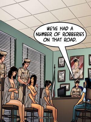 Adult Comics Savita Bhabhi 68- Undercover Bust Porn Comic 34