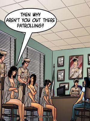 Adult Comics Savita Bhabhi 68- Undercover Bust Porn Comic 35
