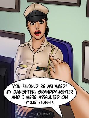 Adult Comics Savita Bhabhi 68- Undercover Bust Porn Comic 38