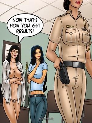 Adult Comics Savita Bhabhi 68- Undercover Bust Porn Comic 42