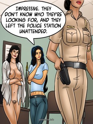 Adult Comics Savita Bhabhi 68- Undercover Bust Porn Comic 43