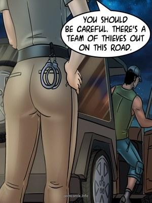 Adult Comics Savita Bhabhi 68- Undercover Bust Porn Comic 53