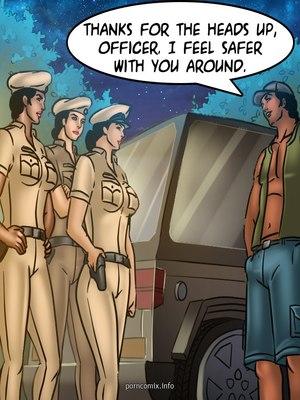 Adult Comics Savita Bhabhi 68- Undercover Bust Porn Comic 54