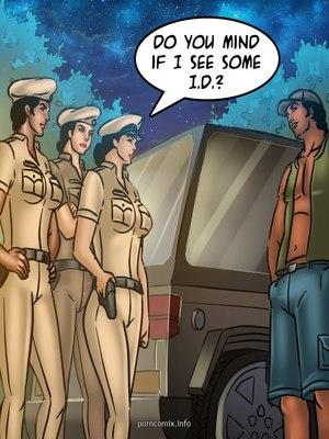 Adult Comics Savita Bhabhi 68- Undercover Bust Porn Comic 55