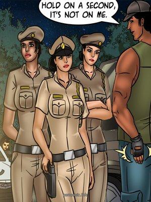 Adult Comics Savita Bhabhi 68- Undercover Bust Porn Comic 56