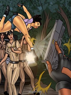 Adult Comics Savita Bhabhi 68- Undercover Bust Porn Comic 64