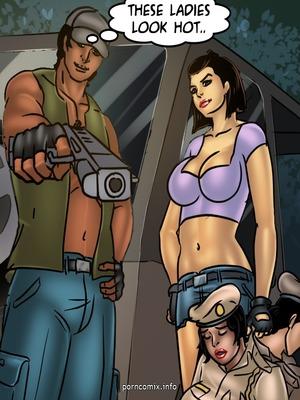 Adult Comics Savita Bhabhi 68- Undercover Bust Porn Comic 65