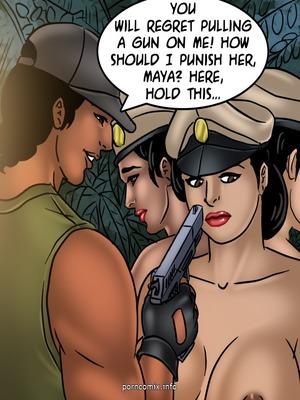 Adult Comics Savita Bhabhi 68- Undercover Bust Porn Comic 70