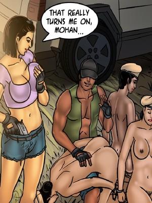 Adult Comics Savita Bhabhi 68- Undercover Bust Porn Comic 72
