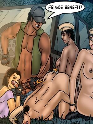 Adult Comics Savita Bhabhi 68- Undercover Bust Porn Comic 74