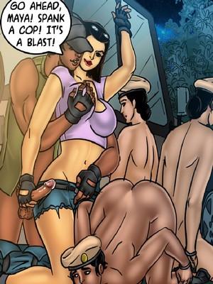 Adult Comics Savita Bhabhi 68- Undercover Bust Porn Comic 77