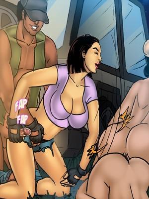 Adult Comics Savita Bhabhi 68- Undercover Bust Porn Comic 78