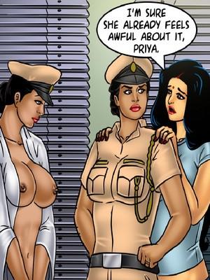 Adult Comics Savita Bhabhi 68- Undercover Bust Porn Comic 90