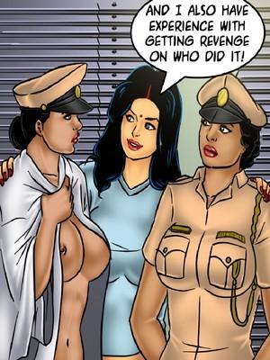 Adult Comics Savita Bhabhi 68- Undercover Bust Porn Comic 92