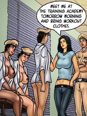 Adult Comics Savita Bhabhi 68- Undercover Bust Porn Comic 96